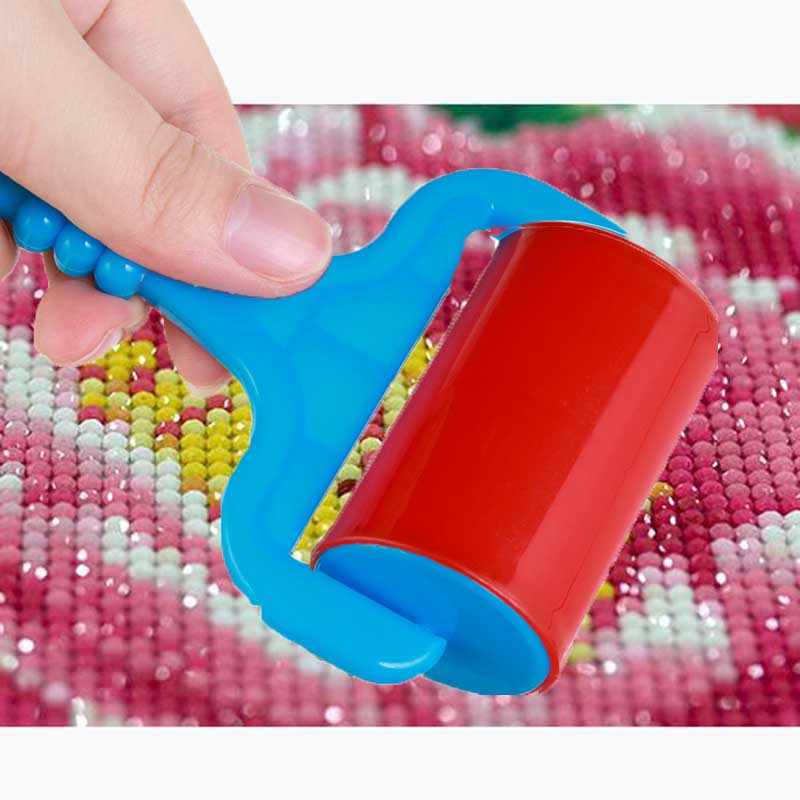 3 adet çok fonksiyonlu elmas boyama çapraz dikiş aracı elmas boyama plastik rulo haddeleme aracı elmas boyama aksesuarları