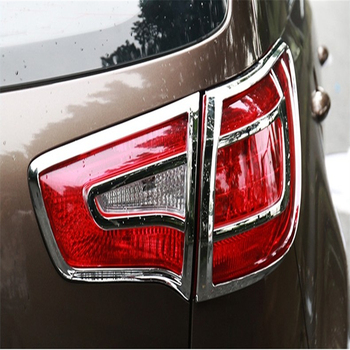 WELKINRY cubierta de coche para KIA SPORTAGE R SL 2010 2011 2012 2013 2014 2015 ABS luz trasera cromada