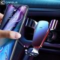 Cafele gravité voiture téléphone support pour voiture CD fente évent montage support pour téléphone support pour iPhone Samsung 360 Rotation support de cellule