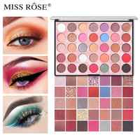 35 Colors Nude Matte Eye Shadow Pearlescent Glitter Sequins Pigment Eye Shadow Palette Make Up Eyeshadow Cosmetics TSLM2
