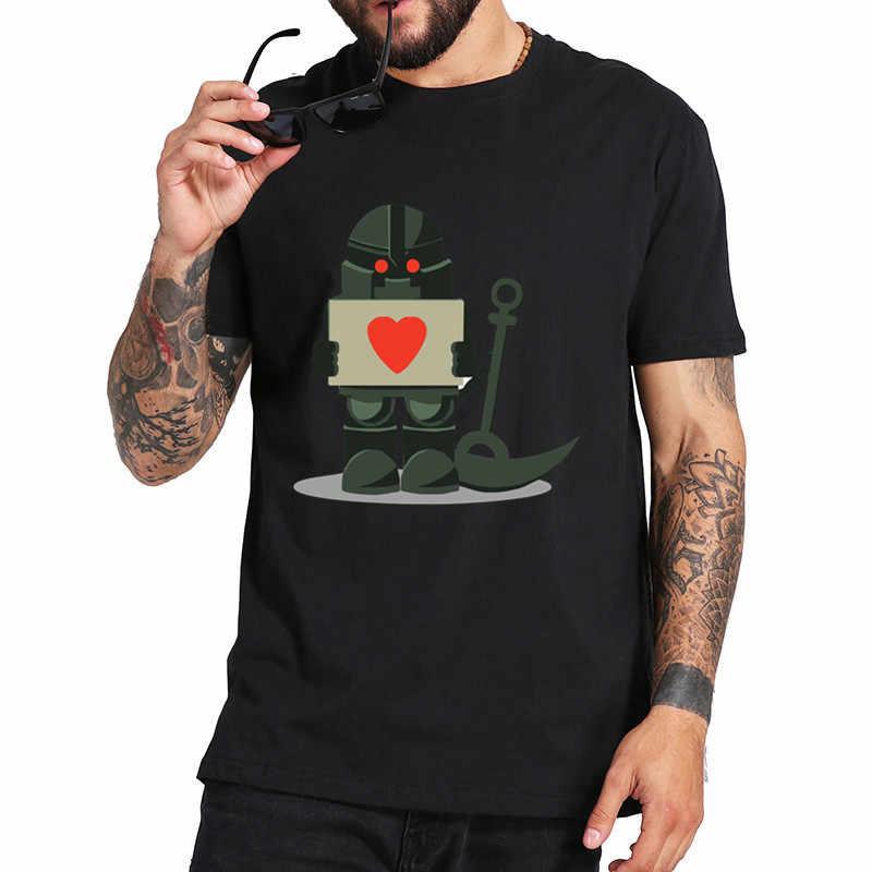 Kaus Pria Nautilus Cinta Shell Kasual Lengan Pendek Matematika Tees CREW NECK Pakaian Murni Kapas Dicetak T-shirt