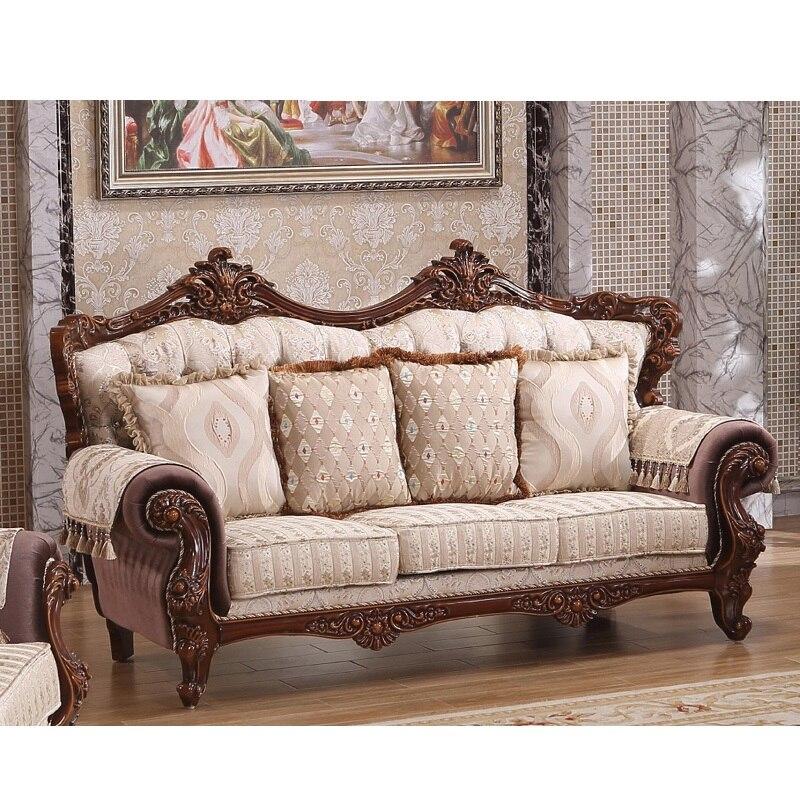 Arabic  Sofa Set Victorian handmade curved 1 2 3 Living Room Sofa  WA598