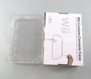 Image 2 - Met Retail Verpakking Cover Behuizing Case Voor Wii Nintendo Wii Console Behuizing Shell Met Volledige Retail Onderdelen
