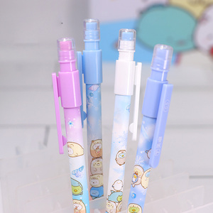 Image 2 - 40 adet/grup Sumikko Gurashi mekanik kurşun kalem sevimli 0.5mm otomatik kalem kırtasiye hediye okul ofis malzemeleri
