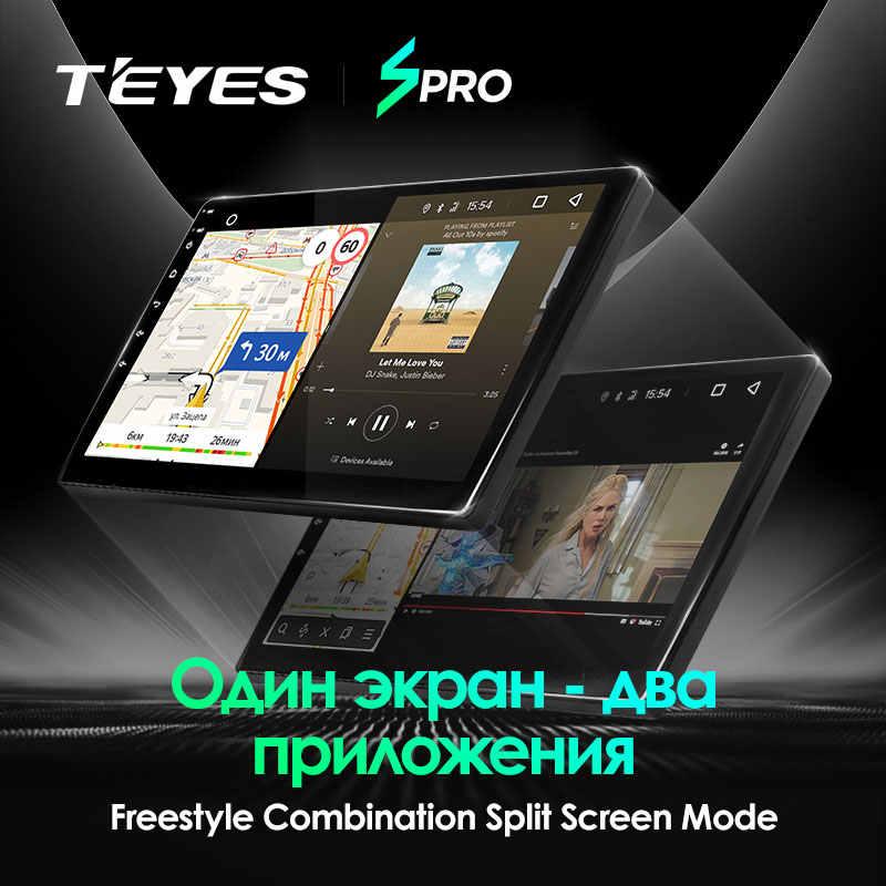 TEYES SPRO para Chevrolet cobalto 2011 2 2018 Radio Multimedia reproductor de Video GPS de navegación Android 8,1 No 2din 2 din dvd