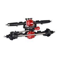 цены на Car Spare Parts Aluminum Reverse Front and Rear Axle for 1:10 Axial SCX10 RC Model Crawler  в интернет-магазинах