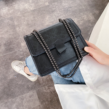 Fashion Pu Leather Small Chain Crossbody Bags for Women High Quality Ladies Purses Shoulder Bag Designer Female Messenger Bags image