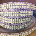 Светодиодный светильник полосы двухрядные гибкие светодиодные полосы DC 24V 12V 480 светодиодов/m 240 светодиодов 240 светодиодов/m 120 светодиодов ...