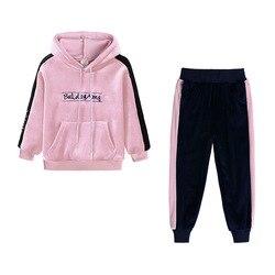 Outono 2020 crianças conjunto de roupas da criança meninas roupas crianças manga longa ternos esportivos para meninas roupa 3 4 5 6 7 8 ano