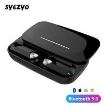 BE36 TWS Bluetooth Drahtlose Kopfhörer Wasserdicht Ipx7 Stereo Rutsche Abdeckung Sport Ohrhörer Musik Kopfhörer Für Xiaomi Huawei IPhone