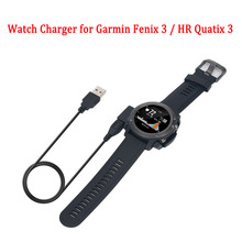 USB Data Smart watch charger cable dock for Garmin Fenix 3 / HR Quatix 3 smartwatch charger cable dock charging cradle 1M micro usb charging dock charger data cradle