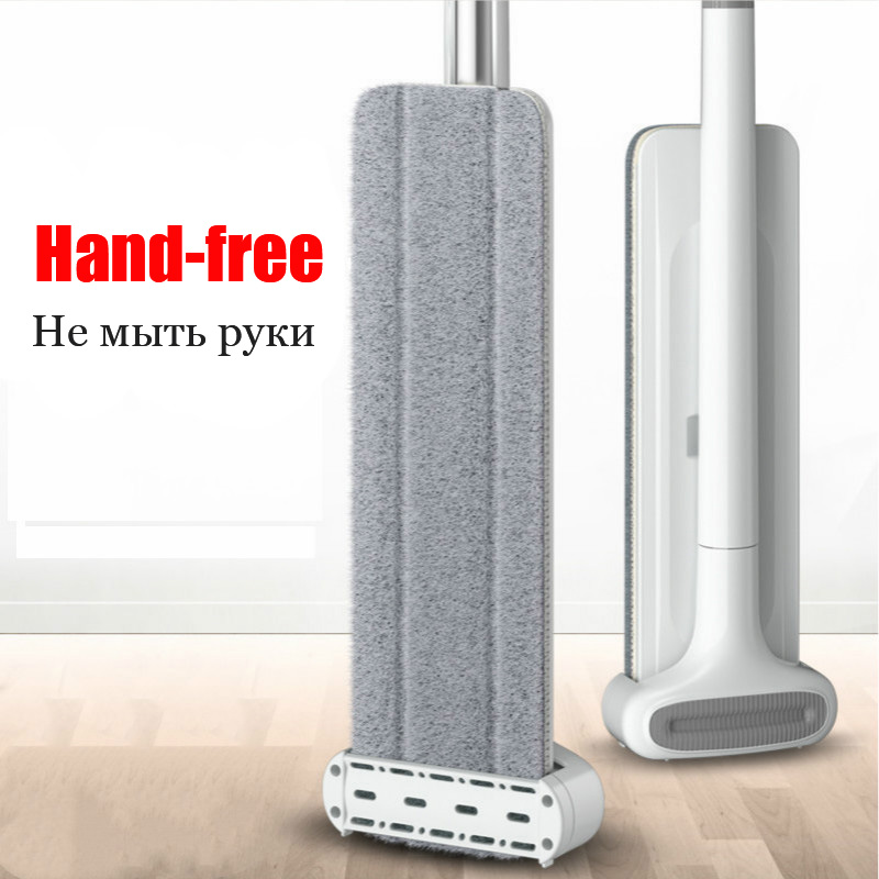 Squeeze Mop Wash for Floor Mops Hand Free Magic House Cleaning Cleaner Lazy wet Home help Wonderlife_aliexpress Lightning Offers
