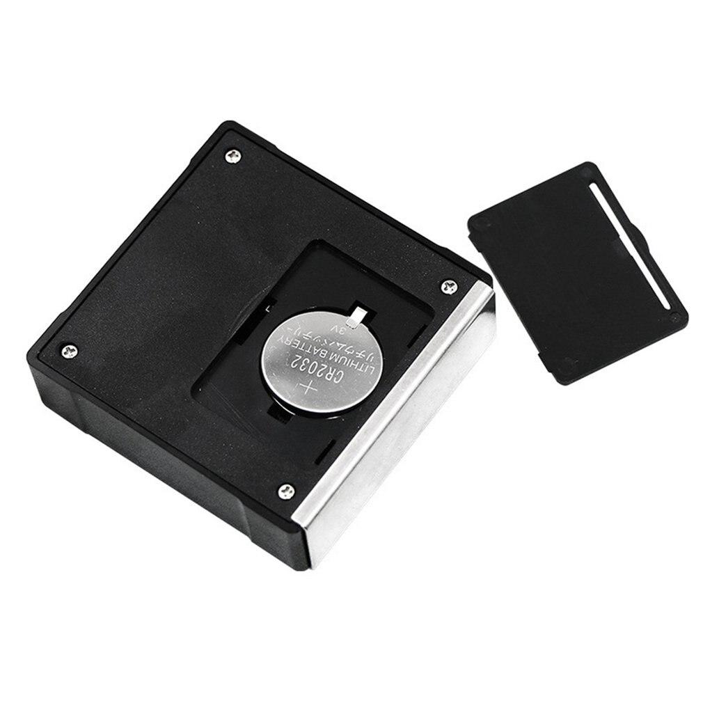 360 градусов Мини цифровой транспортир Инклинометр электронный уровень коробка Магнитная база измерительные инструменты