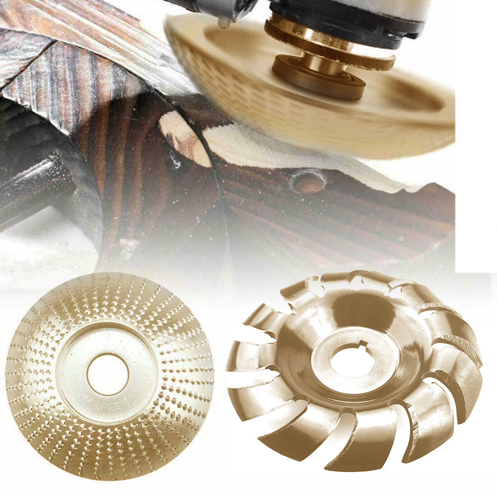90mm 12 Teeth Wood Carving Shaping Disc Steel 16mm Hole Discs For Angle Grinder  Saving You Time And Effort