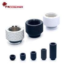 Freezemod extensor de g1/4, macho-fêmea 7.5/10/15/20/30/40mm adaptador de rosca fêmea para montagem de extensão macho refrigerador de água