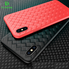 FLOVEME Luxury Woven Case For xiaomi redmi note 7 case funda Silicone Grid mi 9t 9 7A A3
