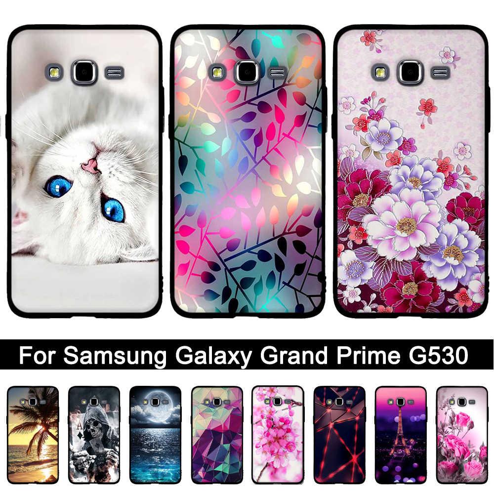 for Samsung Grand Prime Case Soft Silicone Phone Case Coque For Samsung Galaxy G530 G530H G531 G531H G531F SM-G531F Back Cover