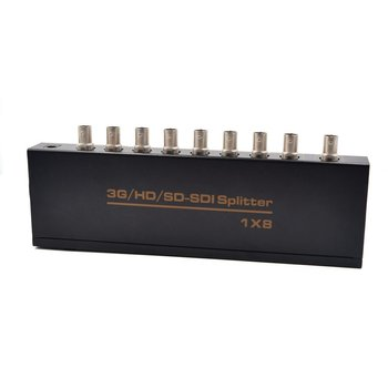 With Sdi Repeater Function Providing Equalized And Re-cloked Transmission And Supporting Signal Input And Output Distancessdi