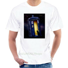 Doctor Who Printed T-Shirt - Tardis And Tee Art Cool Gift Personality Tee Shirt @108562