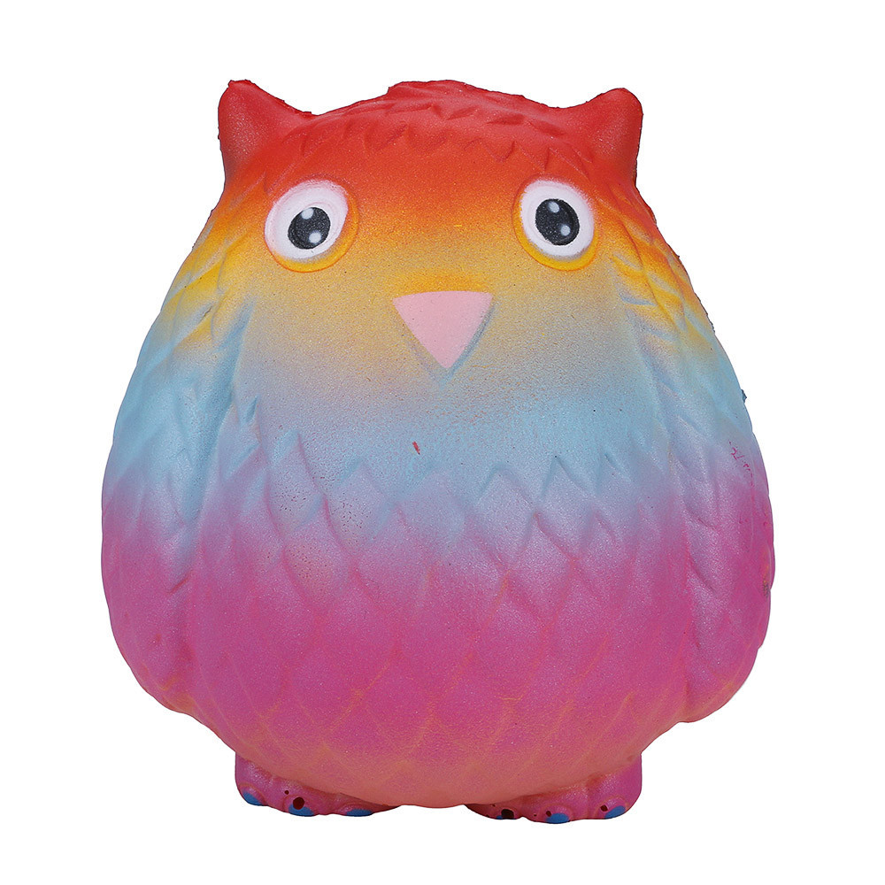 Big Soft Slow Rising Squeeze Toy Pressure Relief Kids Toys Fun Toys For Adults Anti Stress Simulation Owl Toys #B