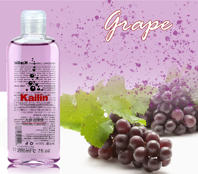 fruit flavor anal grease for sex lubricant lube gel Vagina lubrication 200ml fruit taste water based oil lubricante sexual 5