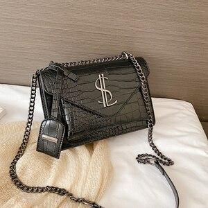 Image 1 - Luxury Handbags Famous Brand Women Bags Designer Lady Classic Plaid Shoulder Crossbody Bags Leather Women Messenger handbags