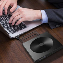 DVD ROM Portatil Lector DVD Externo harici CD DVD sürücü USB 3.0 USB tip C taşınabilir Ultra ince CD DVD ROM yazar