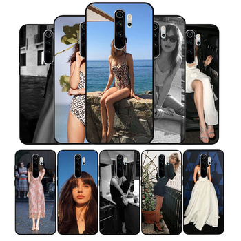 Dakota Johnson Soft Silicone black Phone Case For Redmi 4A 4X 5PLUS 5A NOTE 9S 9 8T 8 7 6 5 4 PRO image