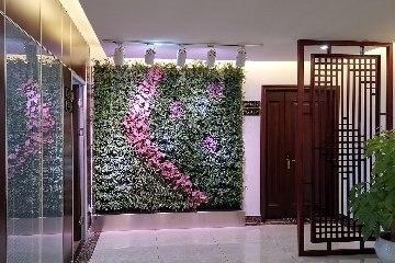 这样的植物墙美的惊艳【赣州之江发展大厦】