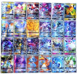 Image 3 - Pokemon francés tarjeta GX TAG non repeat Shining Cards Game Battle Carte Trading juguete para niños