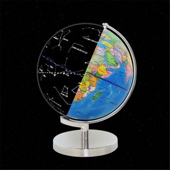 LED Constellation Globe for Kids - 3 in 1 Educational STEM Toys, Light Up World Globe, Constellation Globe and Nightlight w/ Sta фото
