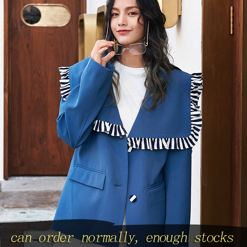 LANMREM Can Ship Fashion Women Clothes Design Little Suit Famale Loose Casual Label Blazers 2020 Spring Fashion New YH958
