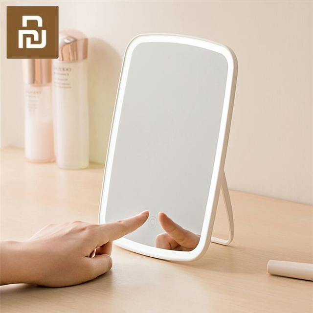 Makeup Mirror LED Light Portable Folding Light Mirror Dormitory Home Desktop Portable Mirror Smart Product