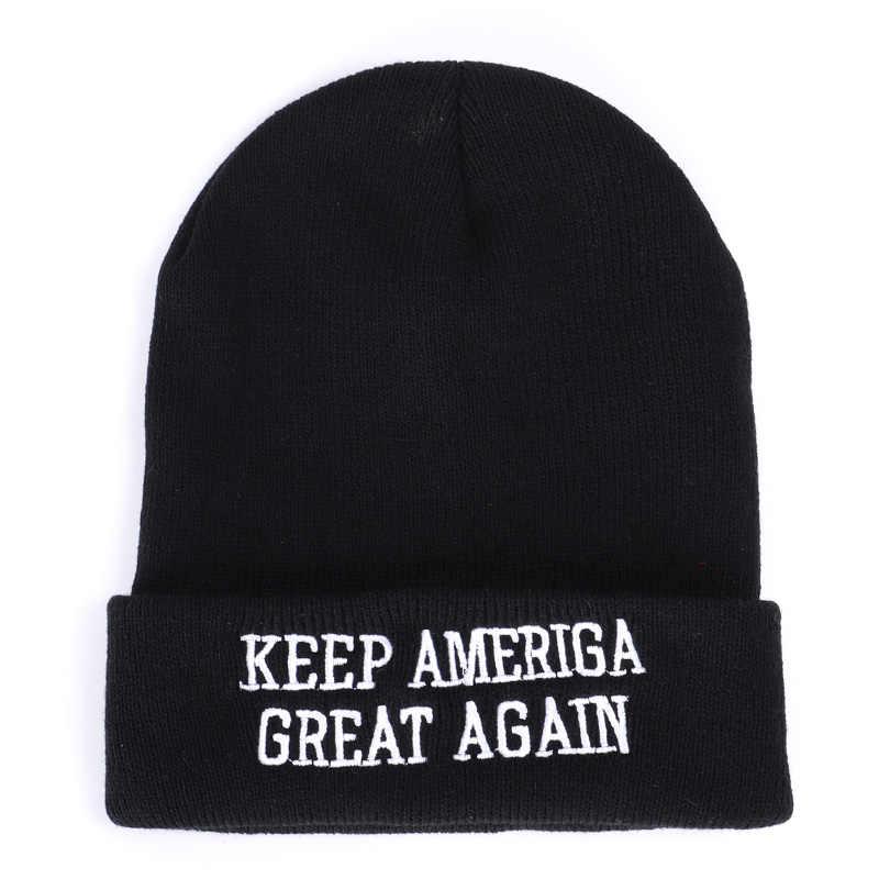 Boné de algodão preto e vermelho chapéu de malha de inverno chapéu de malha de inverno