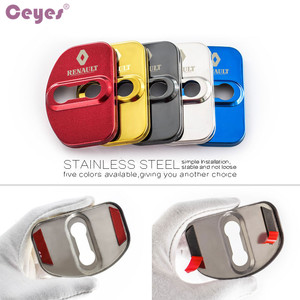 Image 3 - Ceyes автомобильный Стайлинг крышка замка автомобильной двери чехол для Renault Scenic Laguna Captur Megane 2 3 Fluence Latitude автомобильные наклейки аксессуары