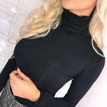 Women Bodycon Basic Pullovers Long Sleeve Skinny Sweater Winter Turtleneck Sweater Female Top NS skinny turtleneck mini sweater dress