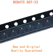 100 sztuk BC847C SOT-23 1G 1GW SOT23 SMD tranzystor nowy i oryginalny Chipset IC