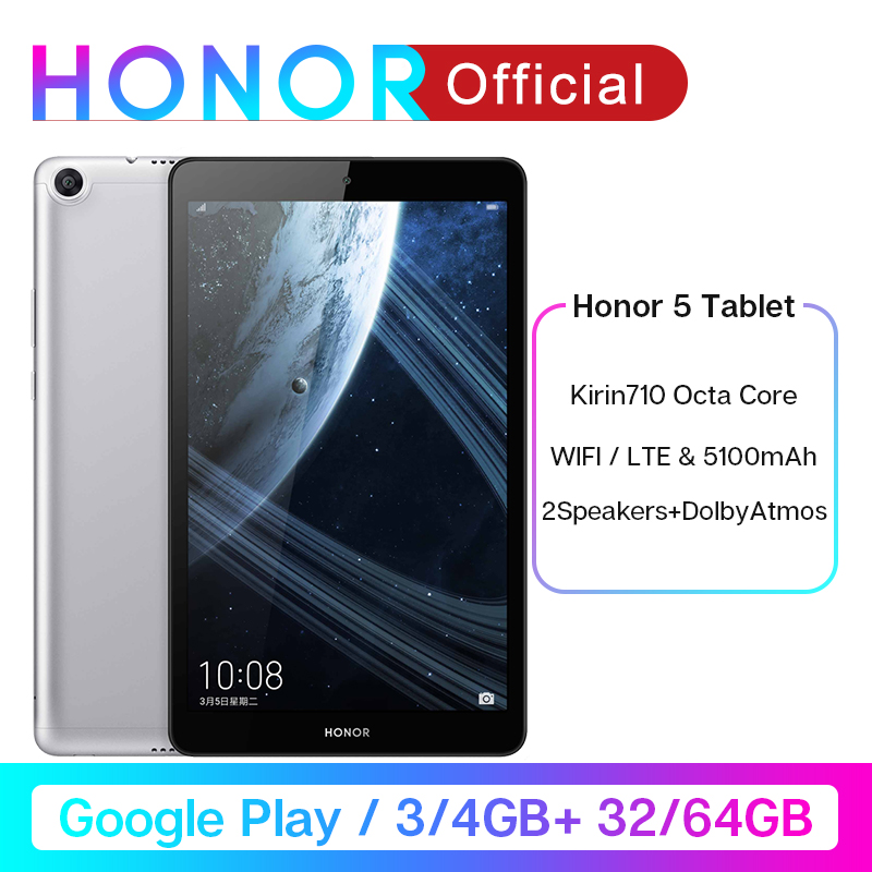 Huawei OTG Honor-Pad Kids Tablet Android 32GB/64GB-TABLET Play Google Octa FHD Kirin title=