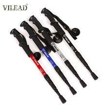 Vilead 1 шт прямая ручка регулируемая алюминиевая альпинистская