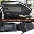 Магнитные специальные занавески для Mercedes-benz A-Class W169 W176 / B-Class W245 W246, оконные солнцезащитные занавески, сетчатая затеняющая штора, полностью з...