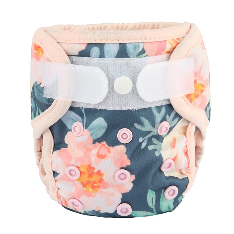 Newborn Baby Infant Pocket Cloth Diaper Nappy,Hook and Loop with Insert