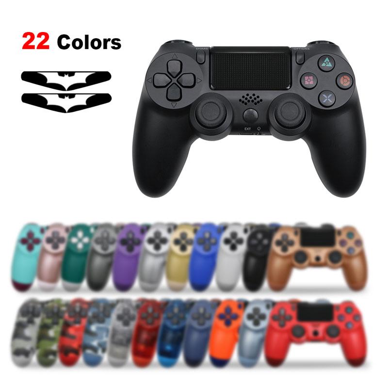 Bluetooth kablosuz oyun kolu için PS4 denetleyici Fit mando için ps4 konsolu Playstation Dualshock 4 Gamepad PS3