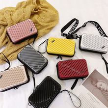 MoneRffi Luxury Hand Bags Women 2019 New Suitcase Totes Fashion Mini Luggage Bag Famous Brand Clutch Box