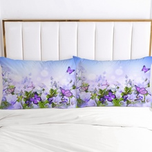 2pc Pillow Case Pillowcase 50x70 50x75 50x80 50x90 80x80 70x70 Decorative Pillow Cover Country style Flowers