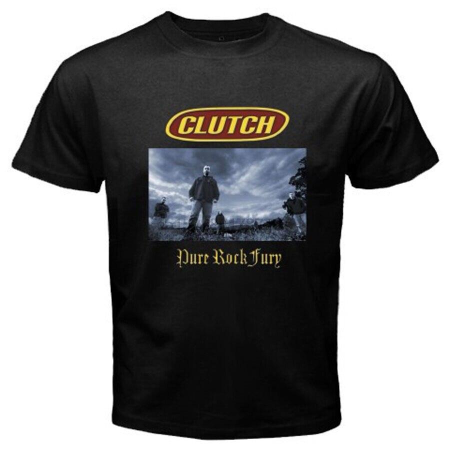 New CLUTCH Ouval Logo Rock Band Men/'s Black T-Shirt Size S to 3XL