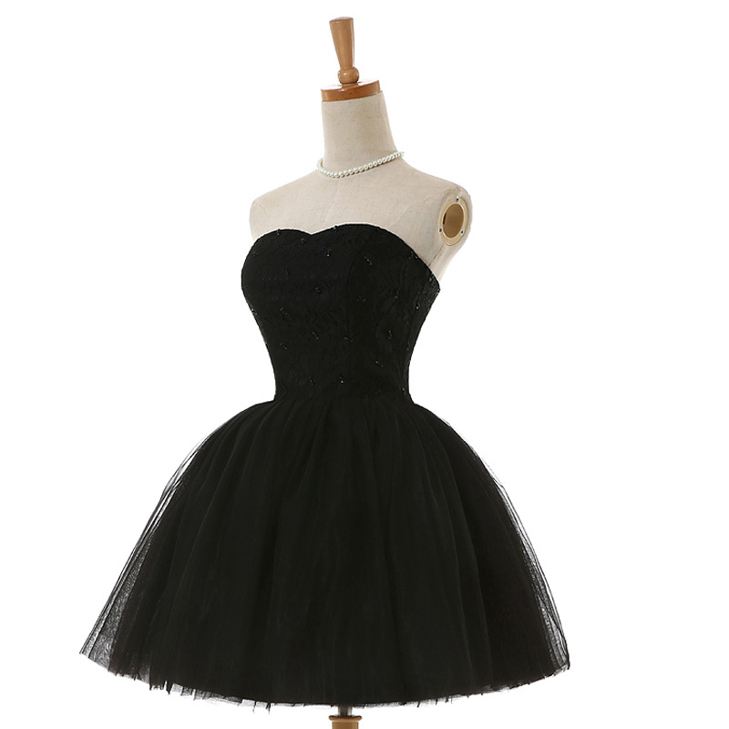 New evening dress, formal evening dress vestoidos de fiesta black dress costume elegant sexy dress