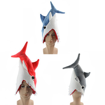 60cm plush Cannibal Sharpedo Creative can be hat good quality stuffed soft lovely Halloween christmas birthday good gift for kid image