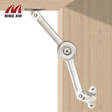 MX Any stop hydraulic hinge kitchen cabinet door adjustable frosted hinge furniture door lifting support hardware цена 2017