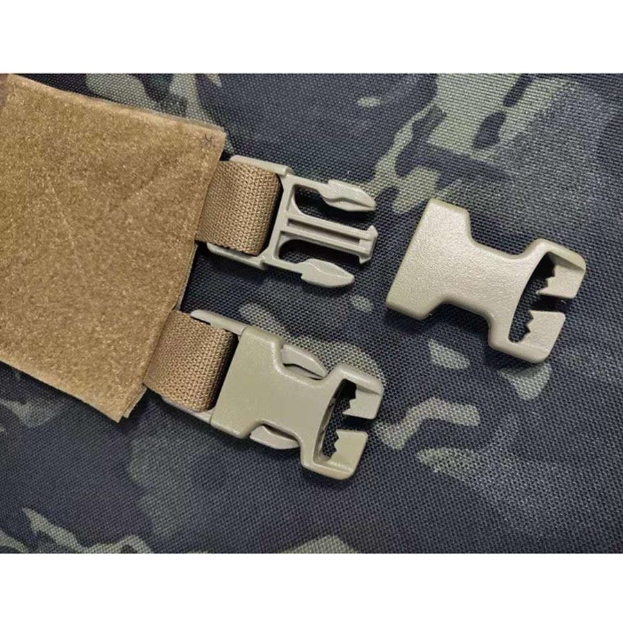 2-Band Quick Removal Release Buckle Set for TMC AVS Tactical Vest Cummerbund