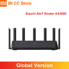 Routeur Global Xiaomi AIoT AX3600 Wifi 6 5G double bande 2976Mbs taux Gigabit WPA3 cryptage de sécurité A53 amplificateur de Signal externe